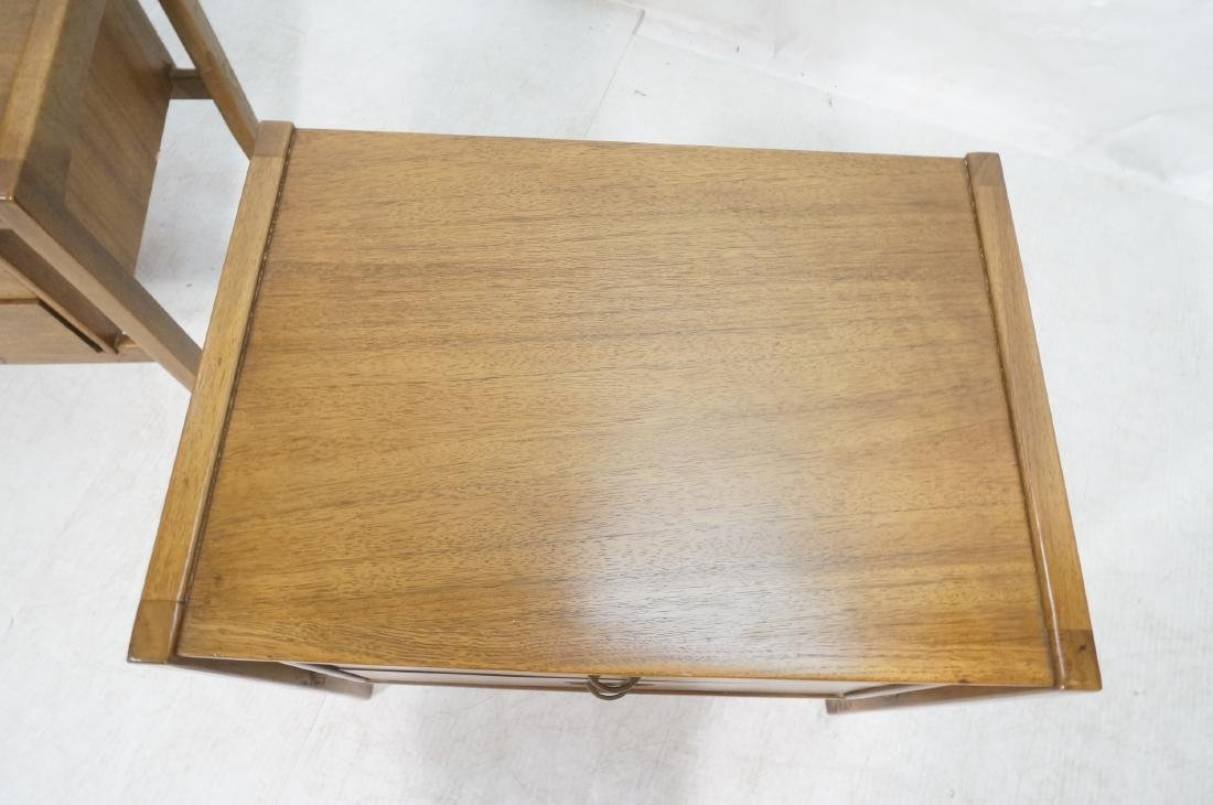 Pr DREXEL American Modern End Tables. Night Stand - 8