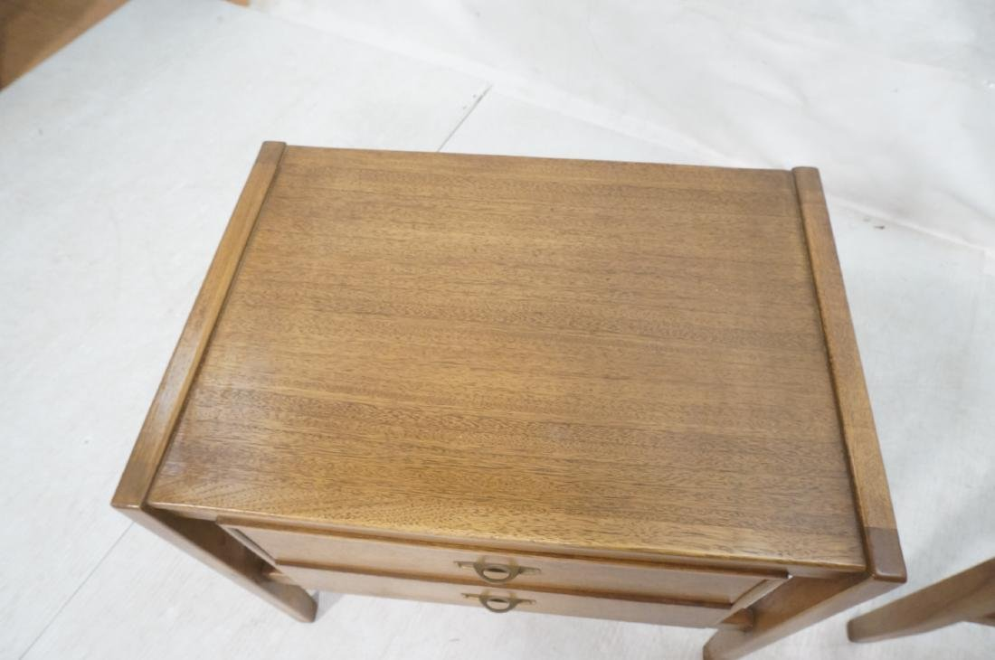 Pr DREXEL American Modern End Tables. Night Stand - 9