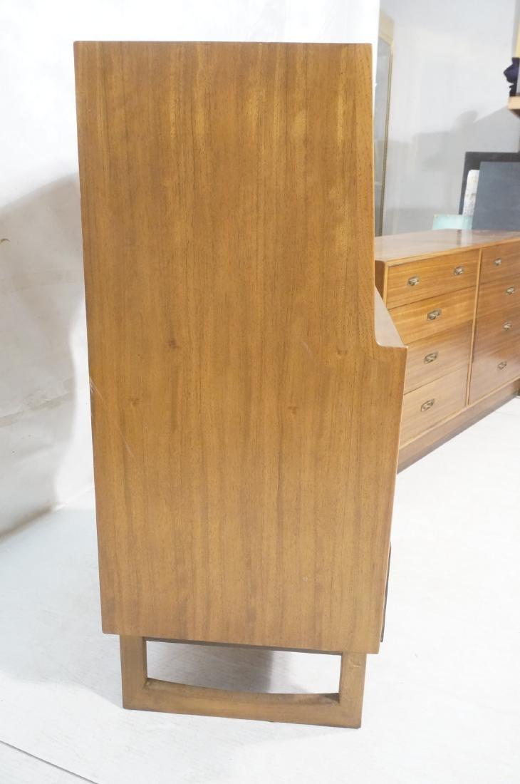 4pc DREXEL American Modern Bedroom Set. Modernist - 11
