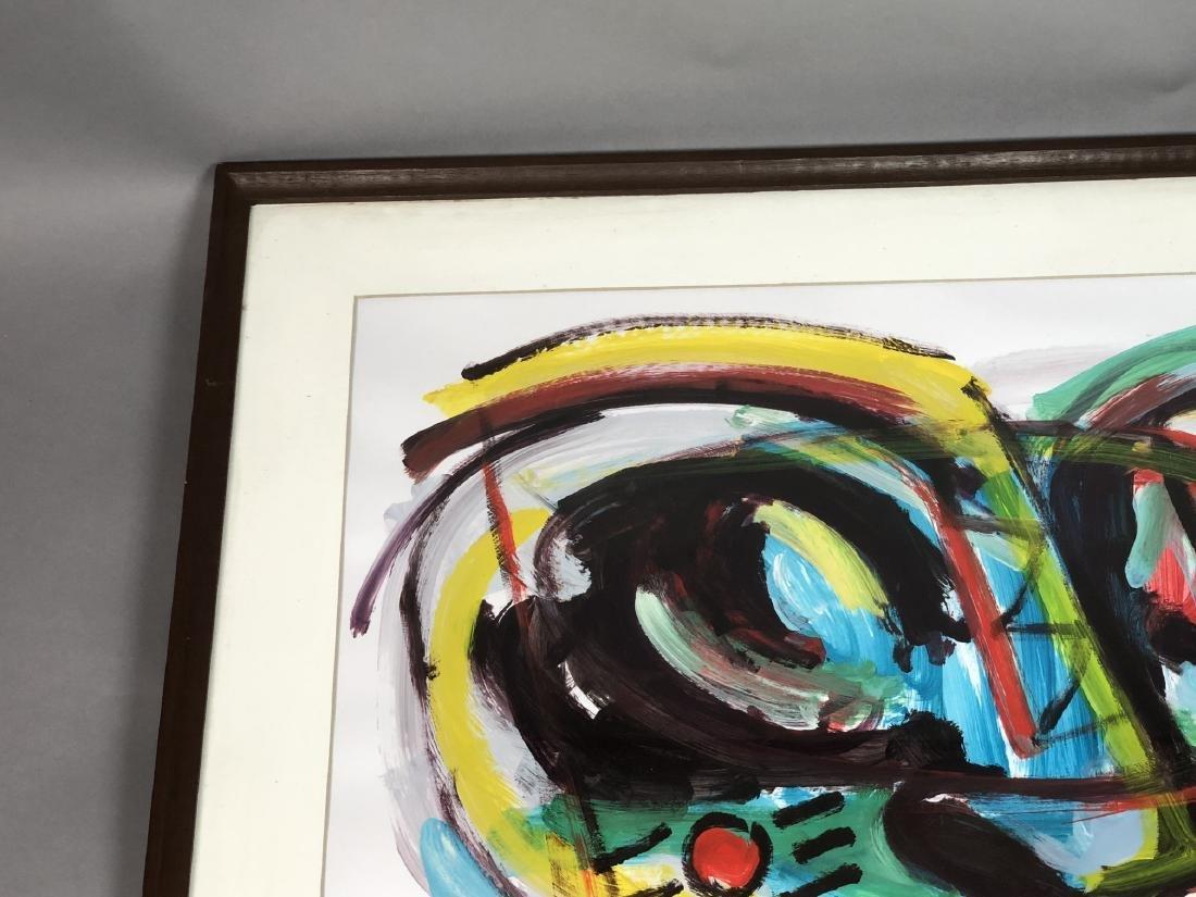 RINALDO KLAS Colorful Fauvist Abstract Painting. - 2