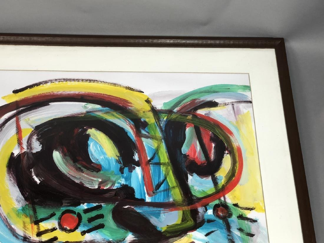 RINALDO KLAS Colorful Fauvist Abstract Painting. - 3