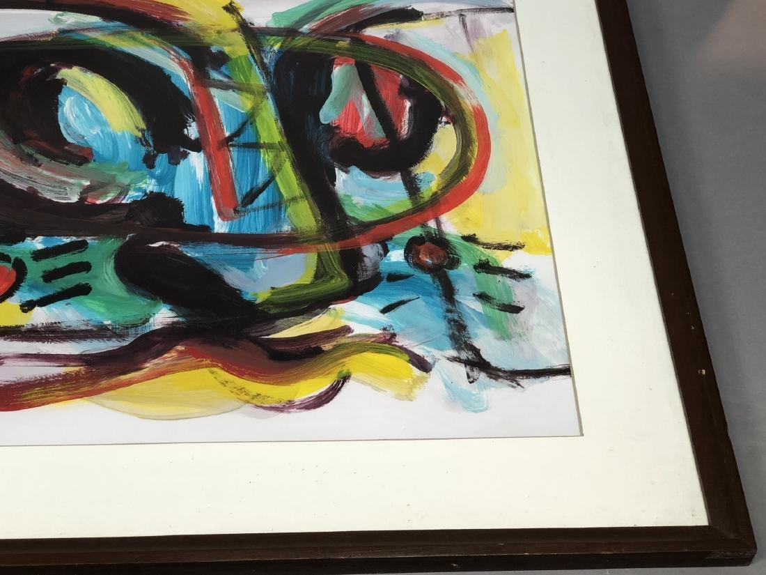 RINALDO KLAS Colorful Fauvist Abstract Painting. - 4