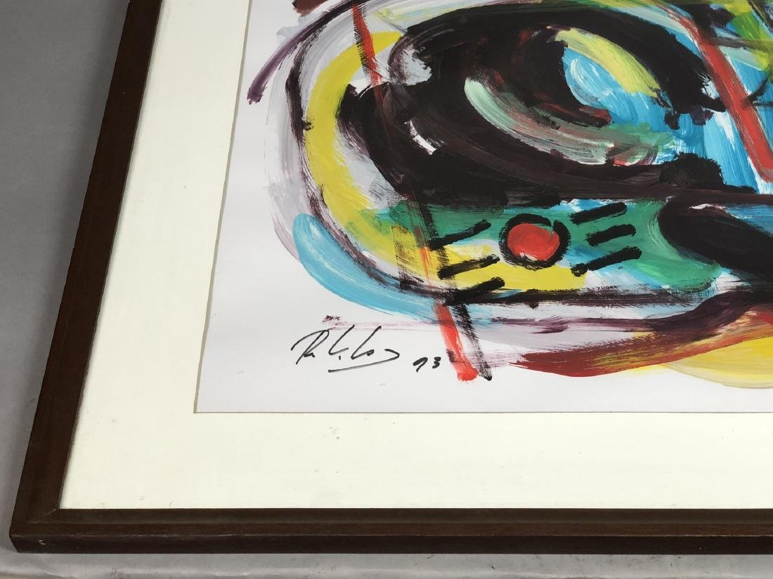 RINALDO KLAS Colorful Fauvist Abstract Painting. - 5