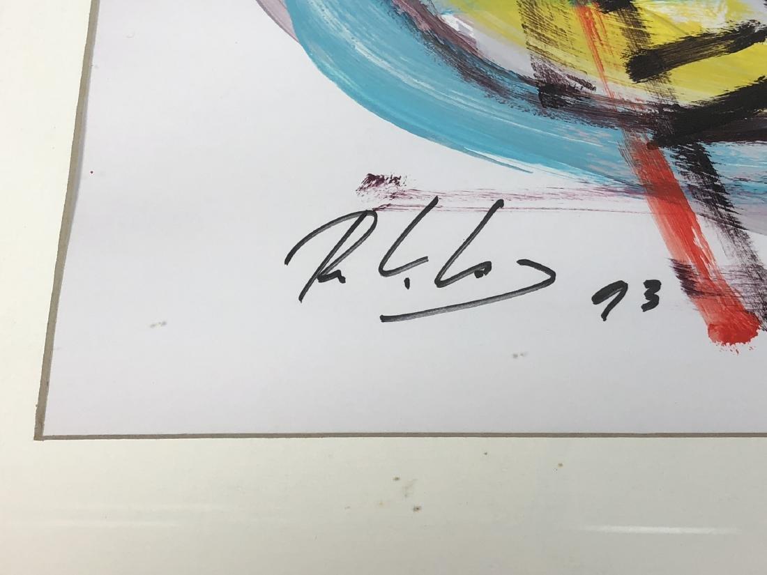 RINALDO KLAS Colorful Fauvist Abstract Painting. - 6