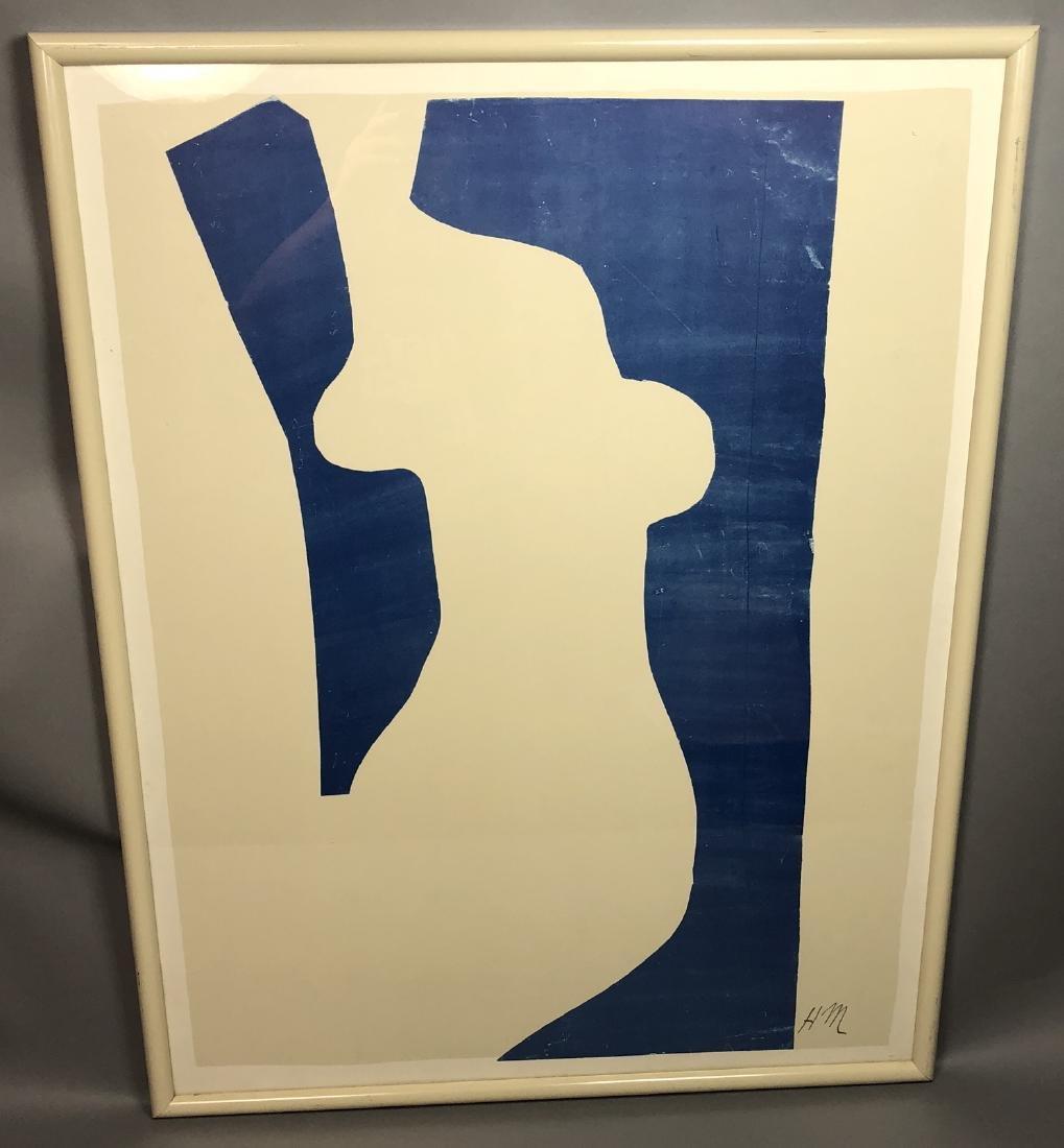HENRI MATISSE Poster Print. Abstract modernist fe