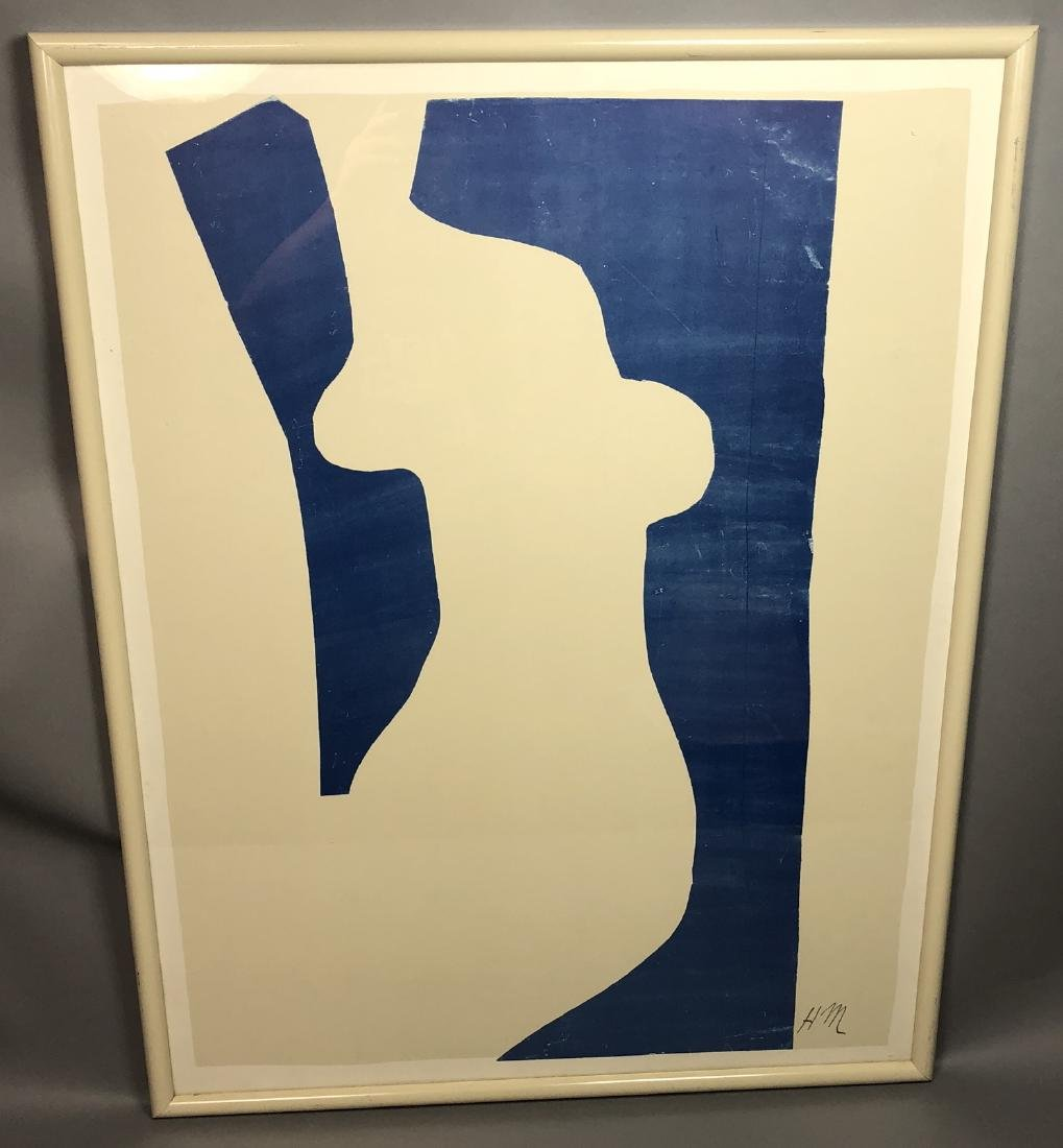 HENRI MATISSE Poster Print. Abstract modernist fe