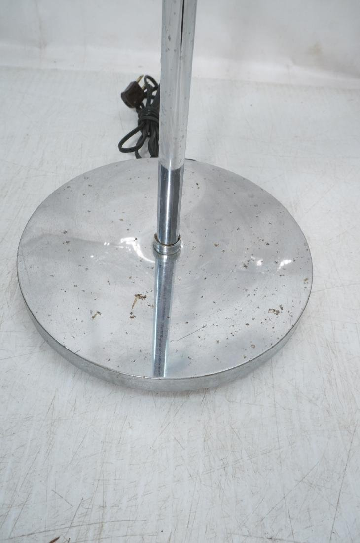 OMI 70s Modern Chrome Ball Floor Lamp. Marked. - 4