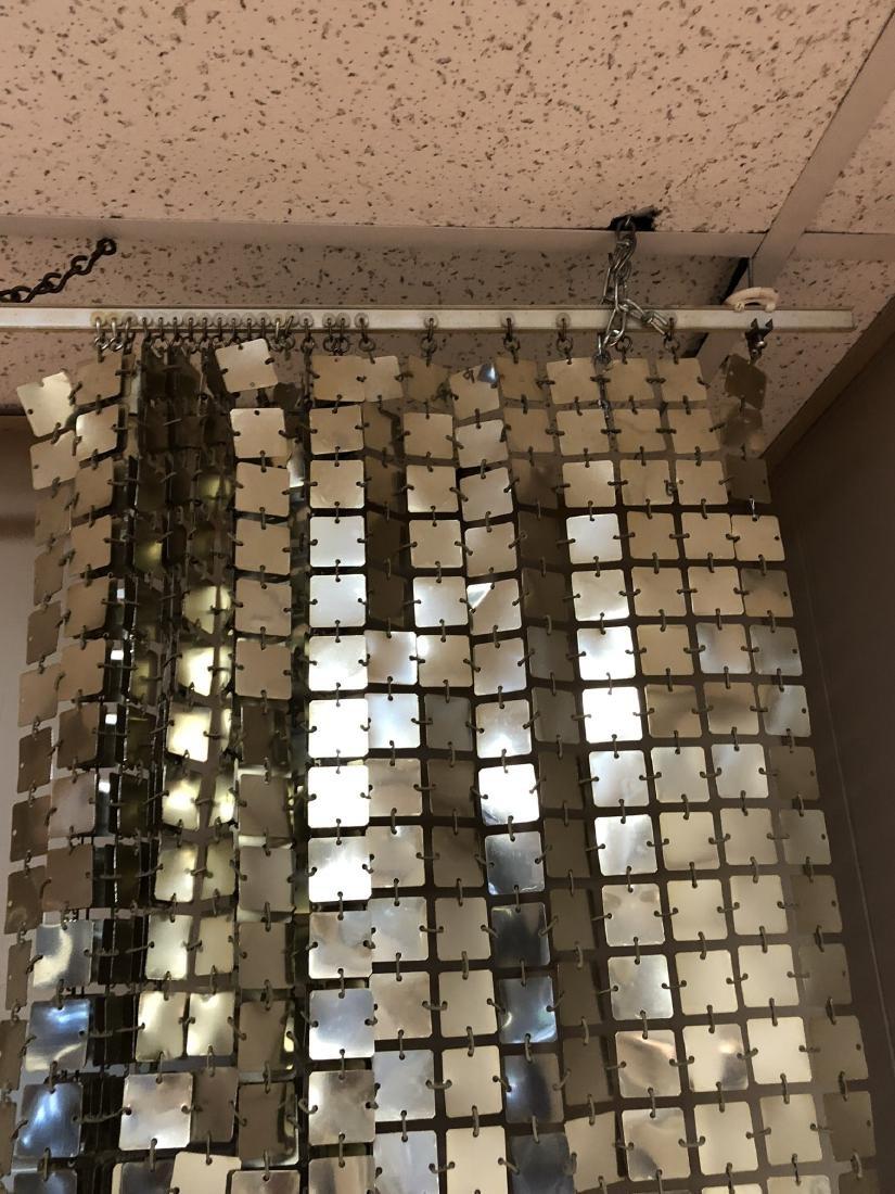 Pr PACO RABANNE Space Curtains. Silver Tile Curta - 10
