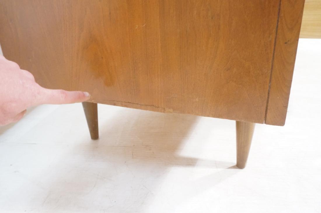 American Modern Walnut Credenza Sideboard. Decora - 10