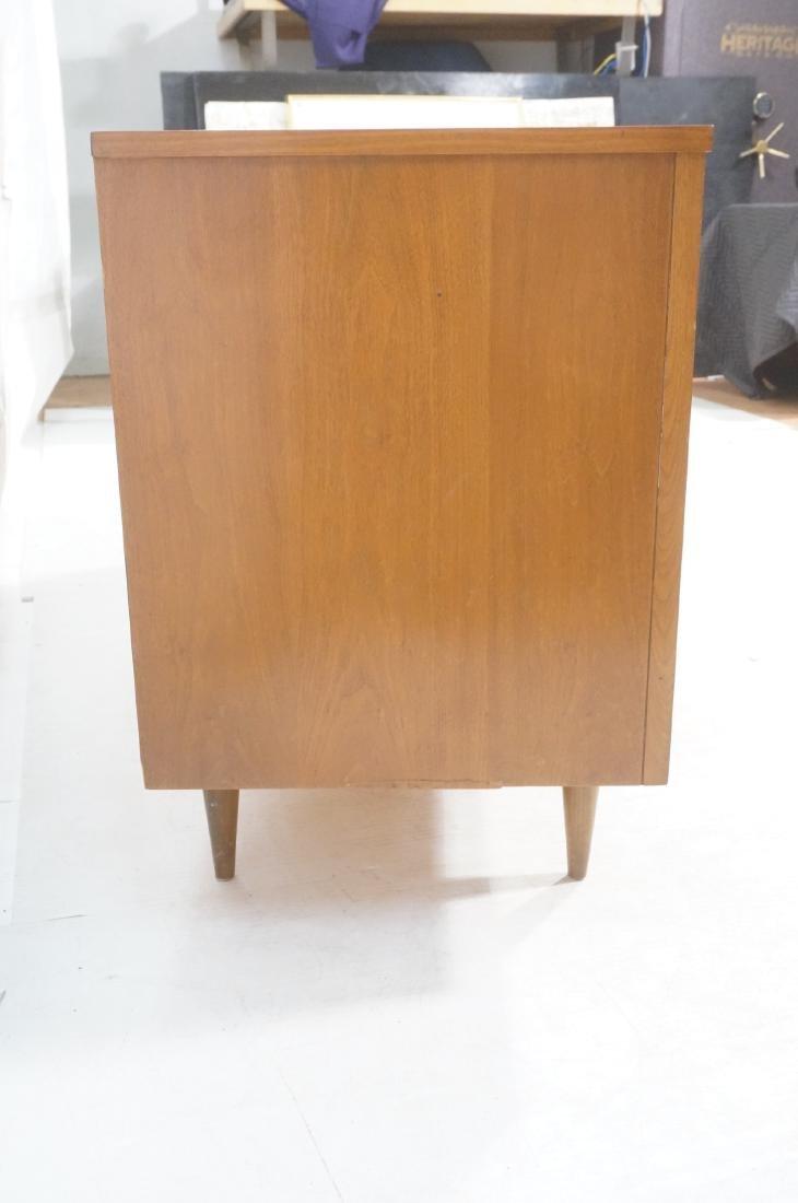 American Modern Walnut Credenza Sideboard. Decora - 4