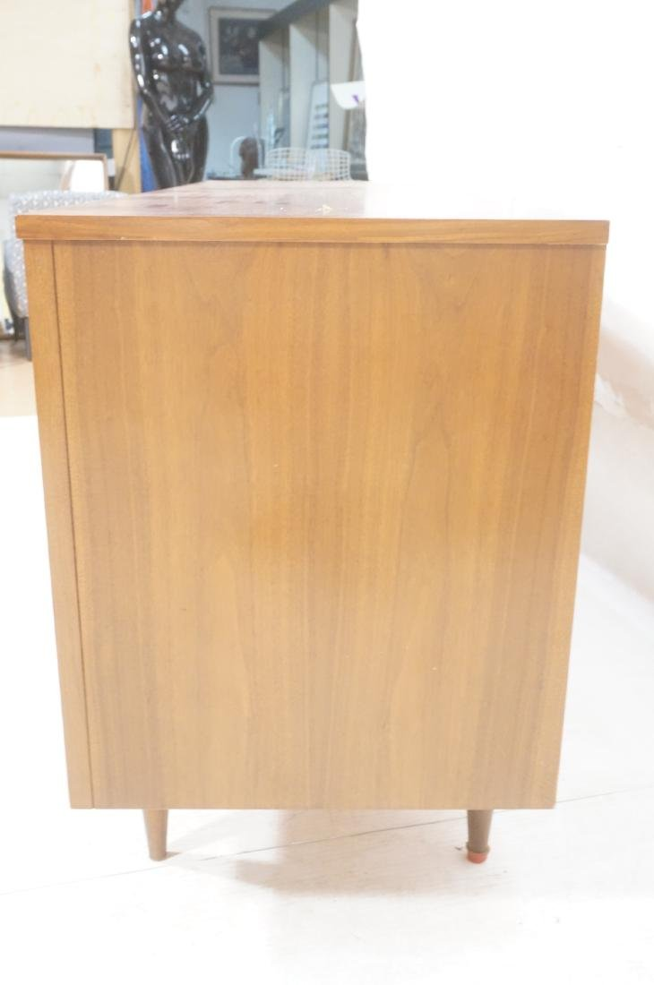 American Modern Walnut Credenza Sideboard. Decora - 5