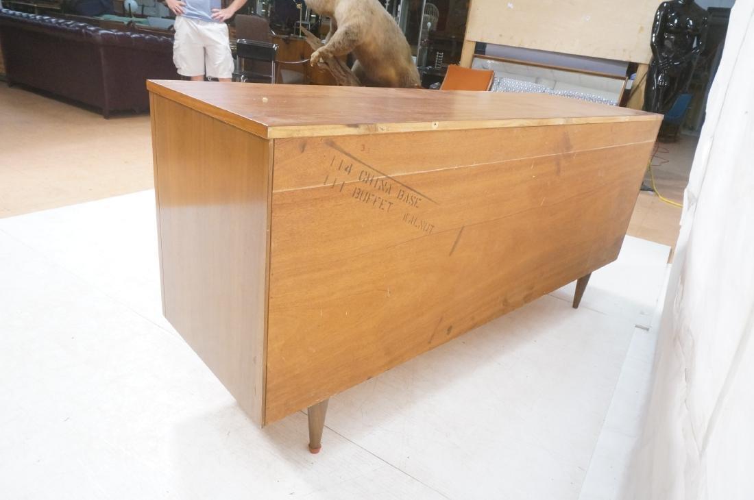 American Modern Walnut Credenza Sideboard. Decora - 6