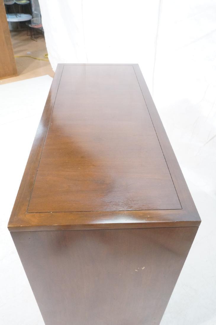 HERITAGE Modernist Walnut Tall Chest. Contrast ba - 4