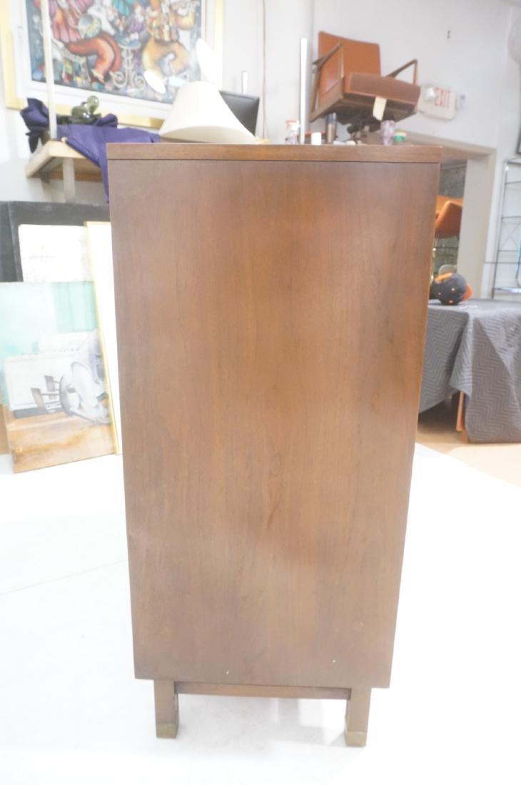 HERITAGE Modernist Walnut Tall Chest. Contrast ba - 6