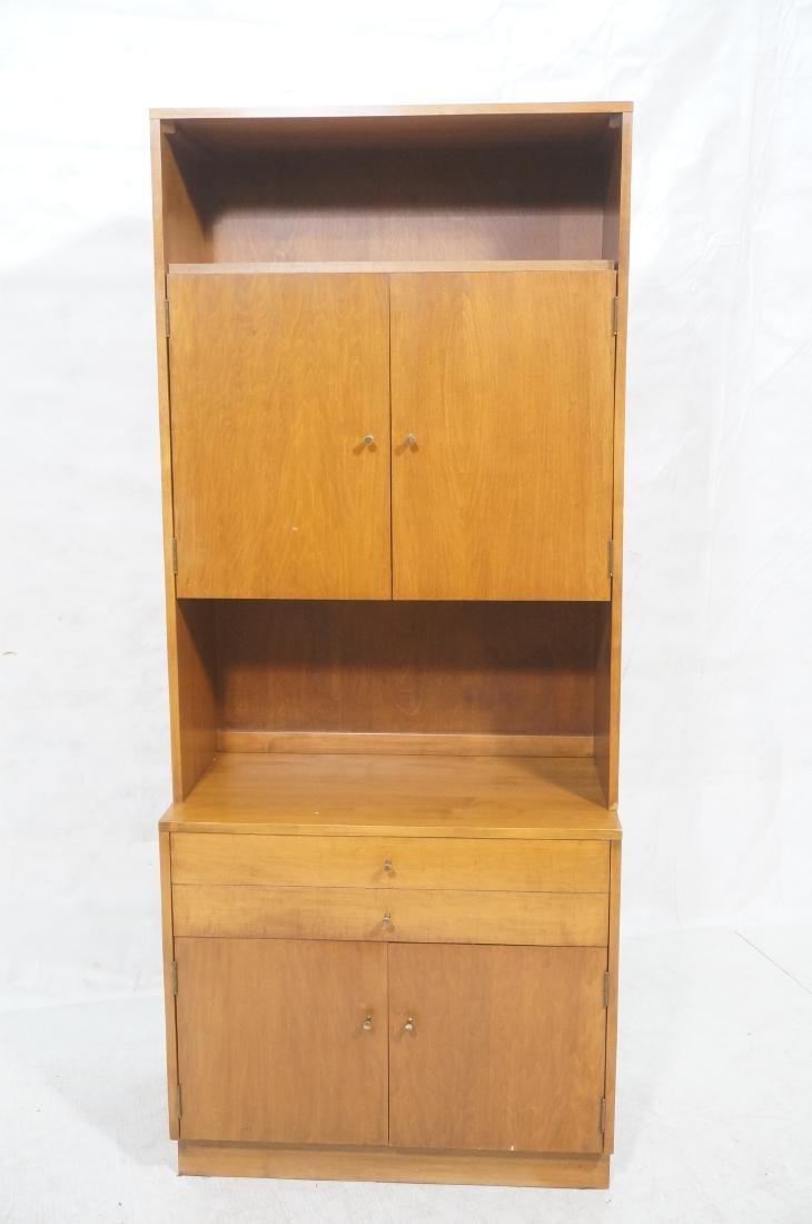 2 part PAUL MCCOBB  Hutch Cabinet. Lower storage - 2