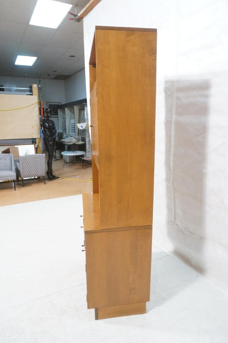 2 part PAUL MCCOBB  Hutch Cabinet. Lower storage - 3