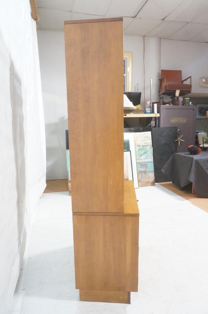 2 part PAUL MCCOBB  Hutch Cabinet. Lower storage - 5
