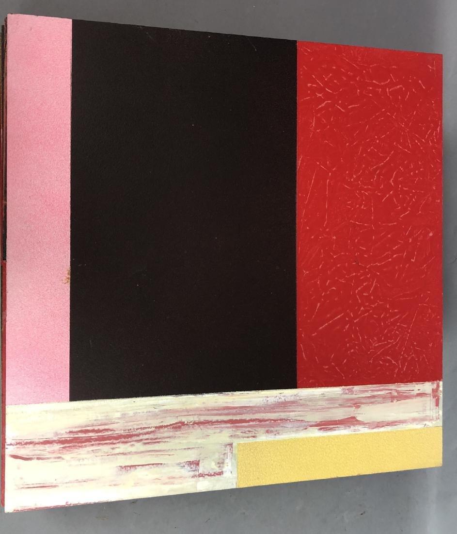 9pc MICHAEL WISE Modernist Art. 9 wood panels wit - 10