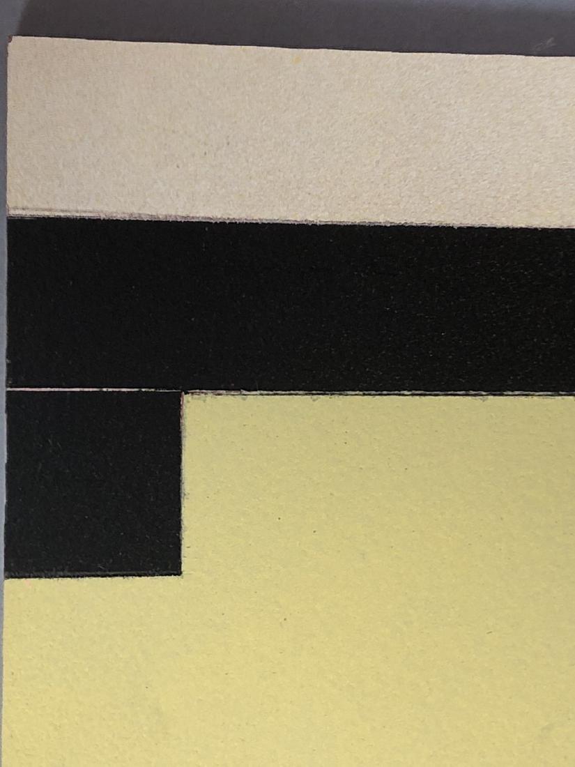 9pc MICHAEL WISE Modernist Art. 9 wood panels wit - 7