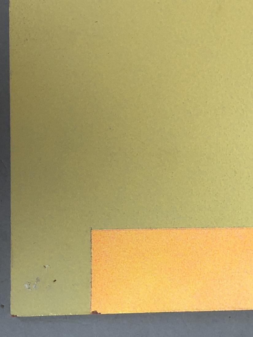 9pc MICHAEL WISE Modernist Art. 9 wood panels wit - 8