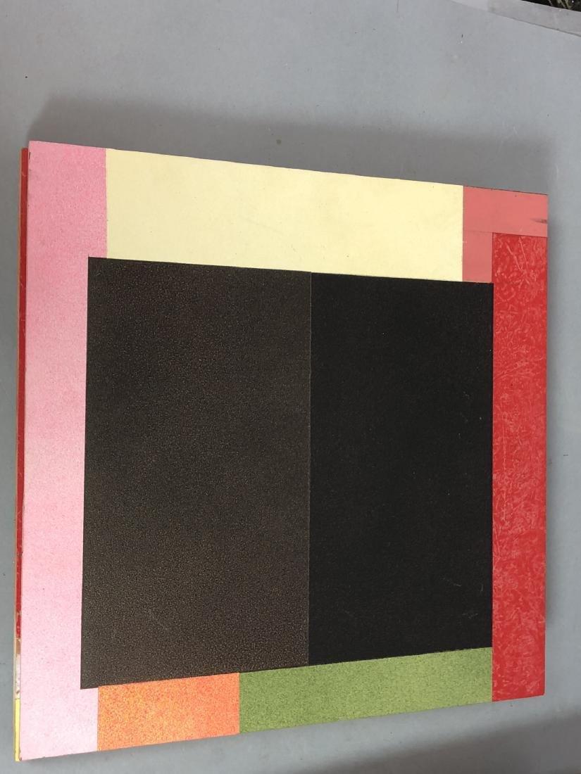 9pc MICHAEL WISE Modernist Art. 9 wood panels wit - 9