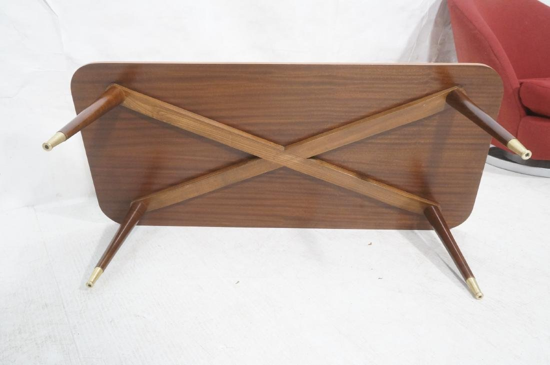 Italian Modern Modernist Inlay Cocktail Table. Co - 10