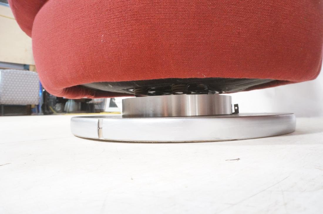 Pr Milo Baughman Lounge Chairs. Swivel Modernist - 10