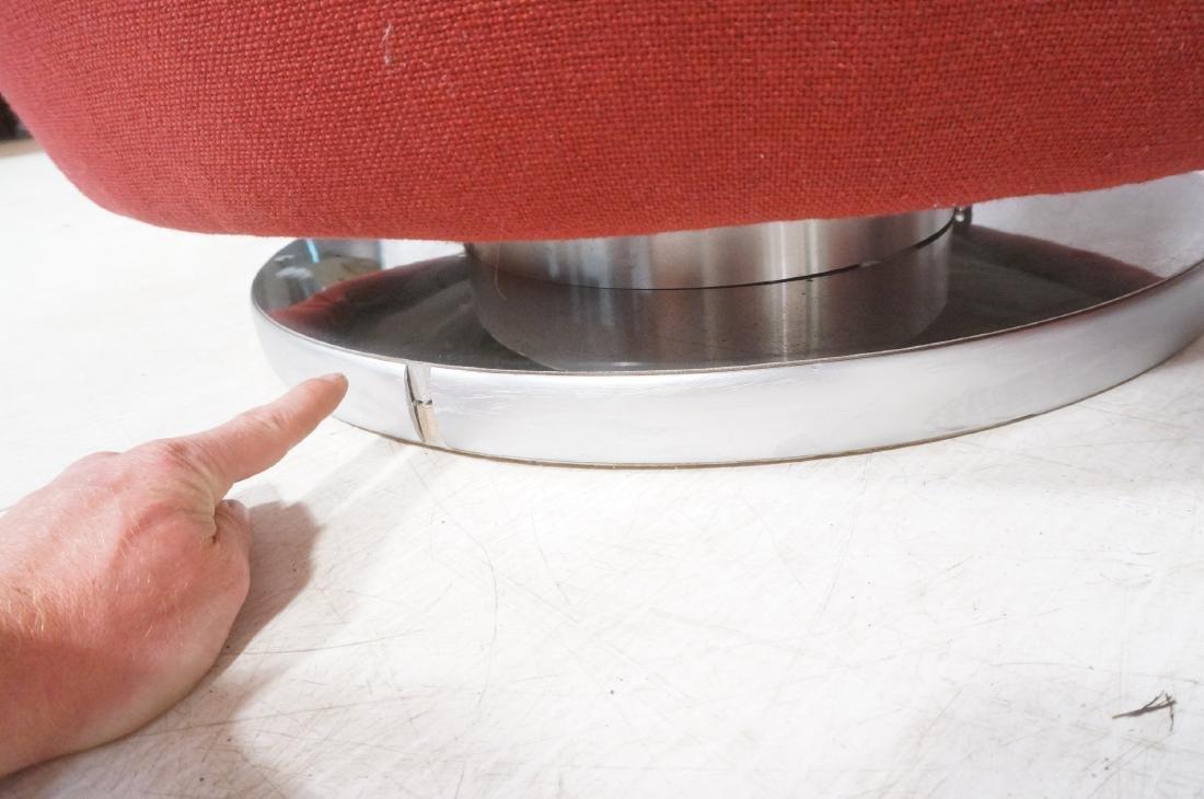 Pr Milo Baughman Lounge Chairs. Swivel Modernist - 9