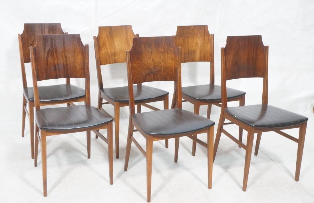Set 6 PAUL McCOBB for Lane Modernist Dining Chair