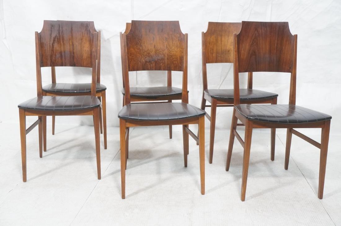 Set 6 PAUL McCOBB for Lane Modernist Dining Chair - 2