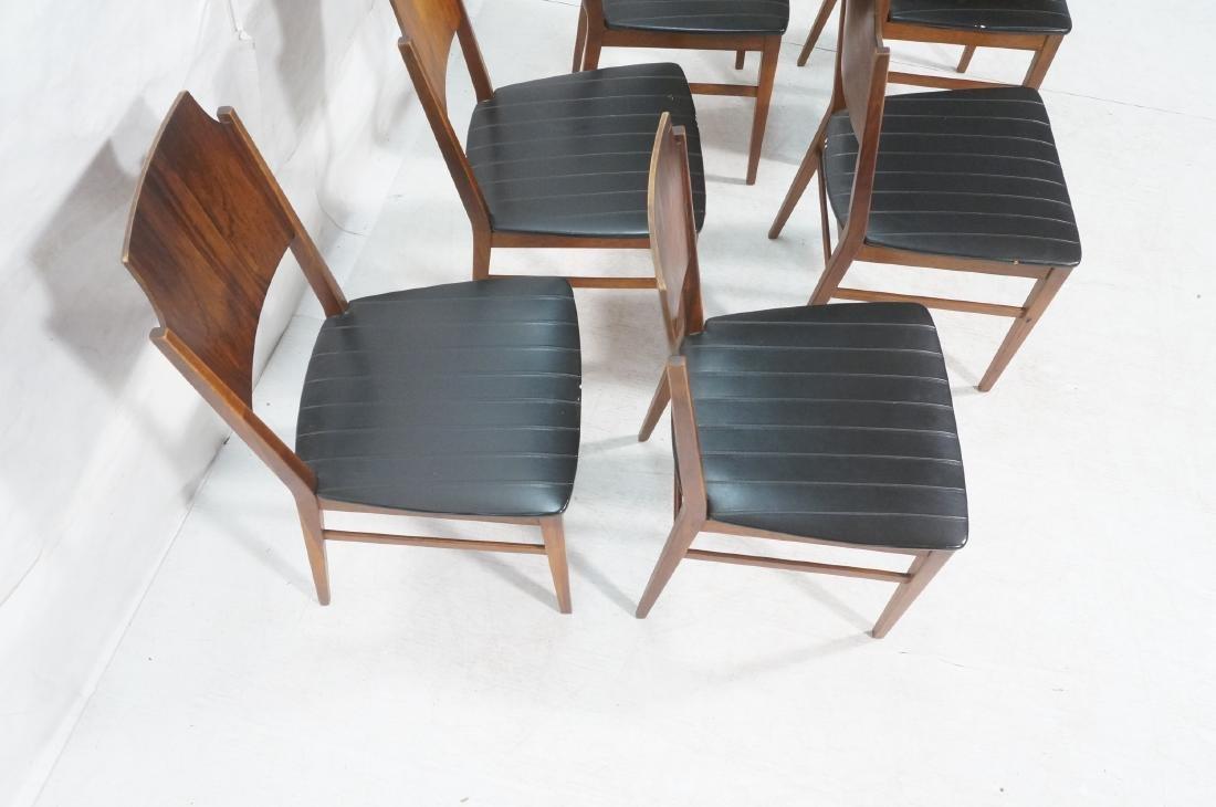 Set 6 PAUL McCOBB for Lane Modernist Dining Chair - 4