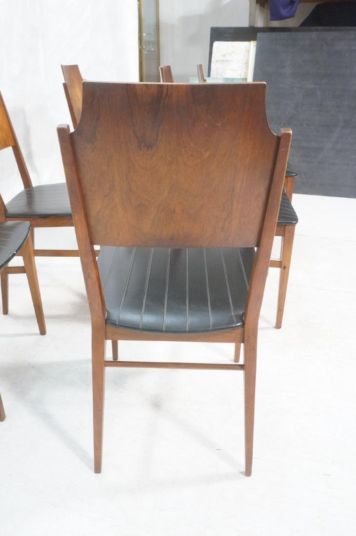 Set 6 PAUL McCOBB for Lane Modernist Dining Chair - 5