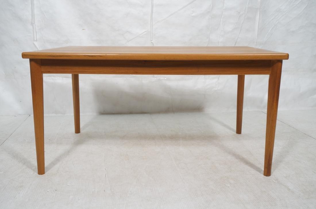 Danish Teak Dining Table. Hidden Refractory Style - 2