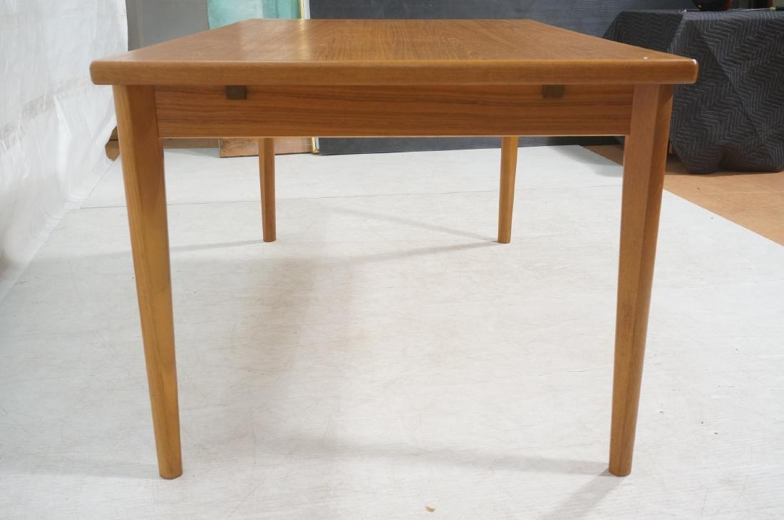 Danish Teak Dining Table. Hidden Refractory Style - 3