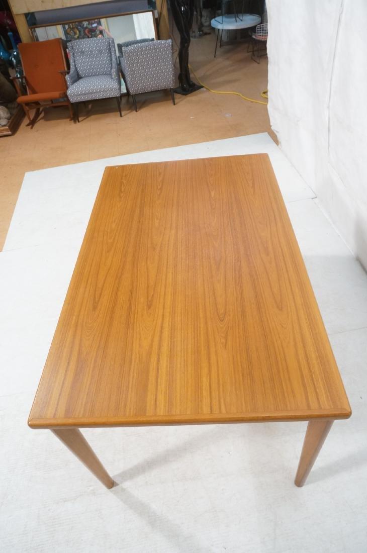 Danish Teak Dining Table. Hidden Refractory Style - 5