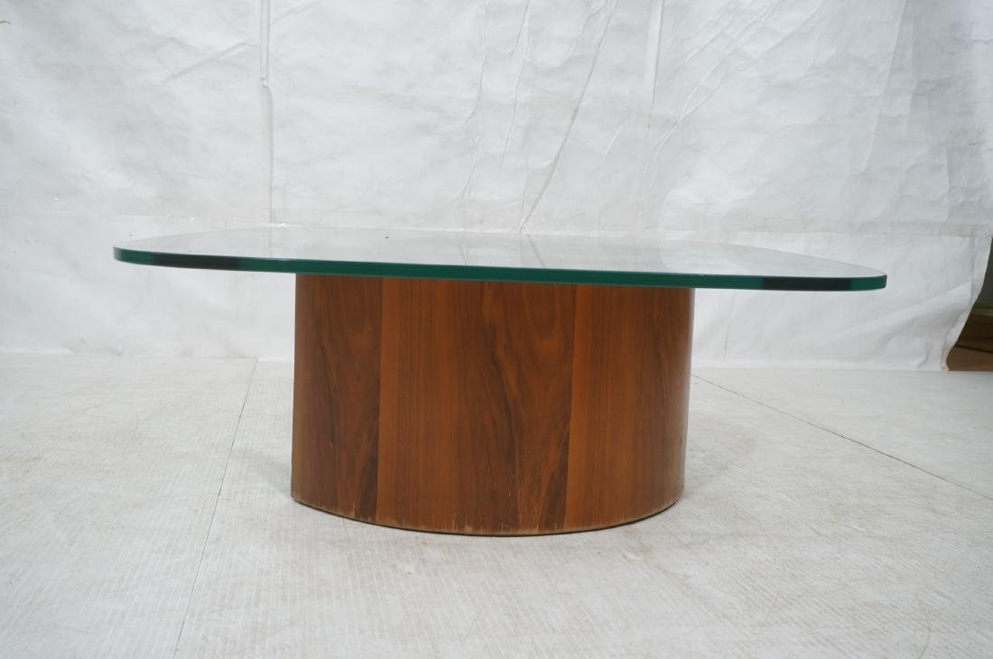 VLADIMIR KAGAN Snail Coffee Cocktail Table. Coile - 2