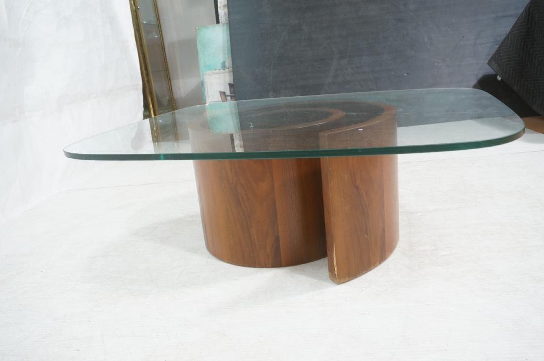 VLADIMIR KAGAN Snail Coffee Cocktail Table. Coile - 3