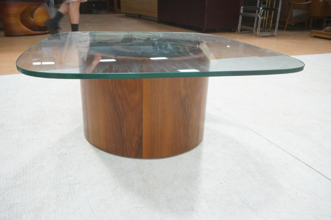 VLADIMIR KAGAN Snail Coffee Cocktail Table. Coile - 4