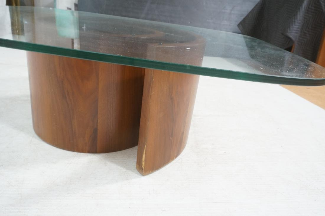 VLADIMIR KAGAN Snail Coffee Cocktail Table. Coile - 9