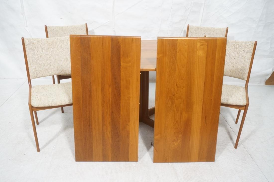 5pc Danish Modern Teak Dining Set. Square dining - 10