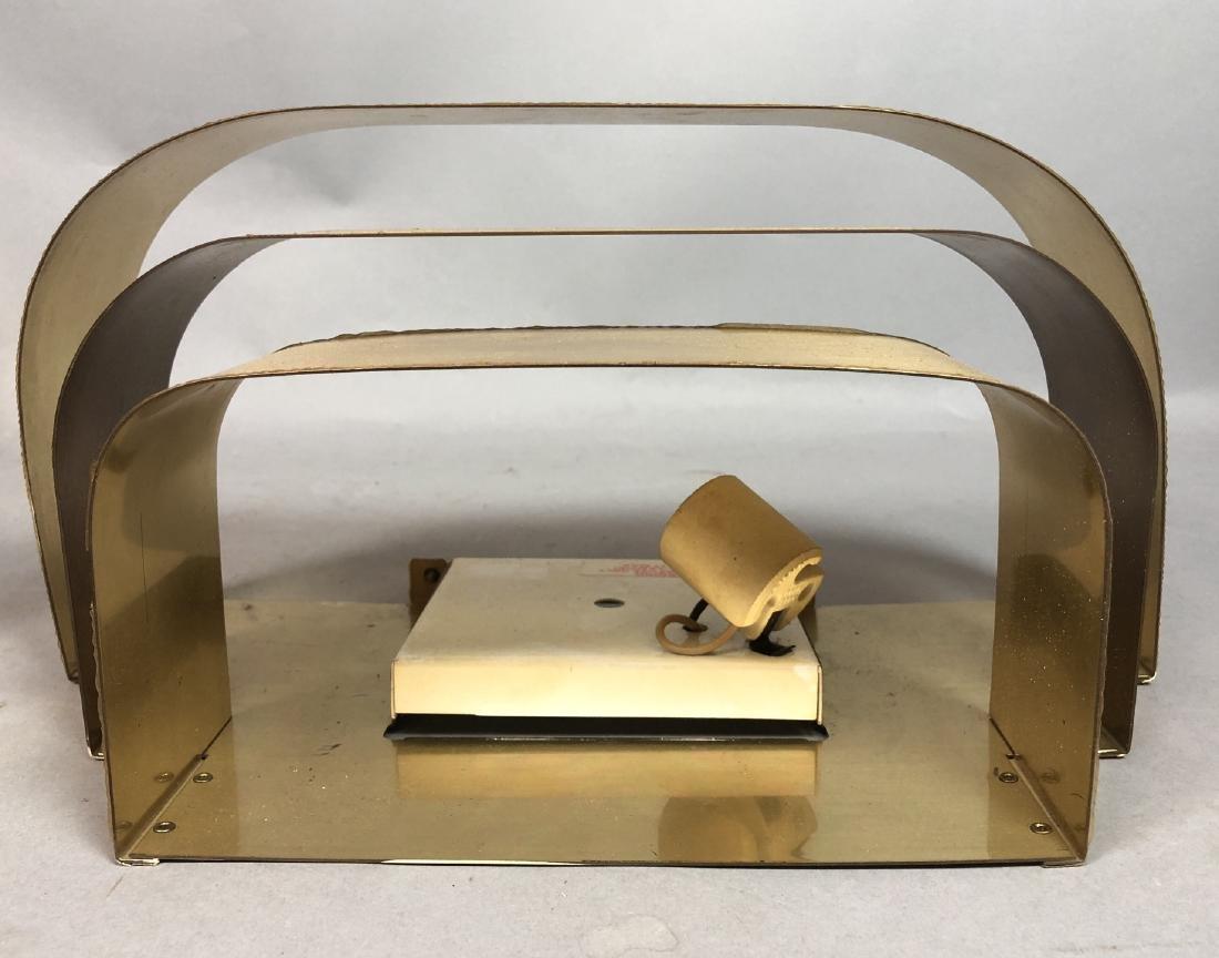 Set 4 PROGRESS LIGHTING Gold Aluminum Wall Sconce - 8