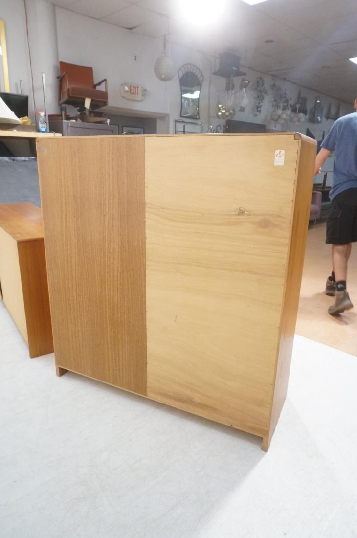 2pc Danish Modern Teak Bedroom Set. High & Low Ch - 4
