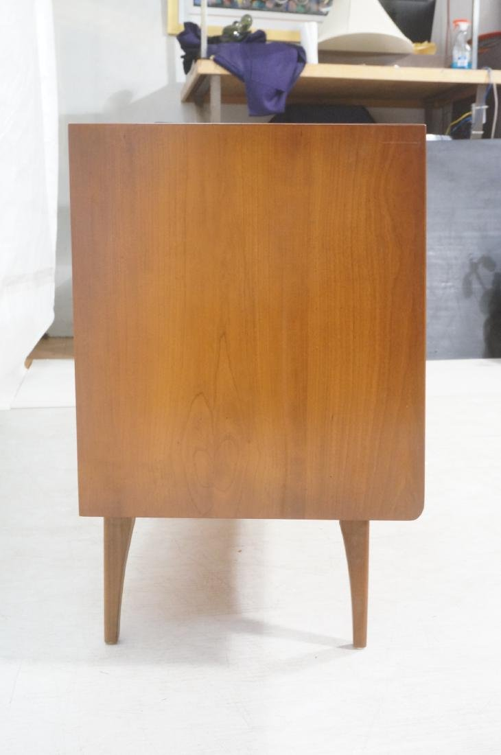 UNITED Walnut Angled Front Modernist Credenza Sid - 4