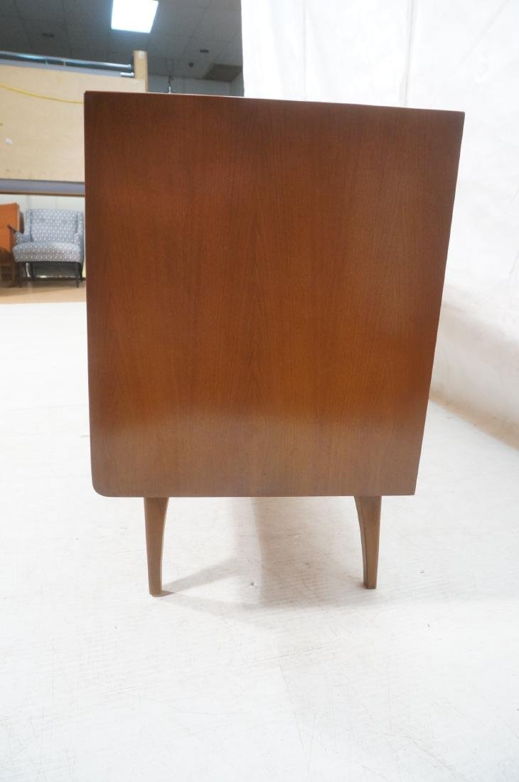 UNITED Walnut Angled Front Modernist Credenza Sid - 6