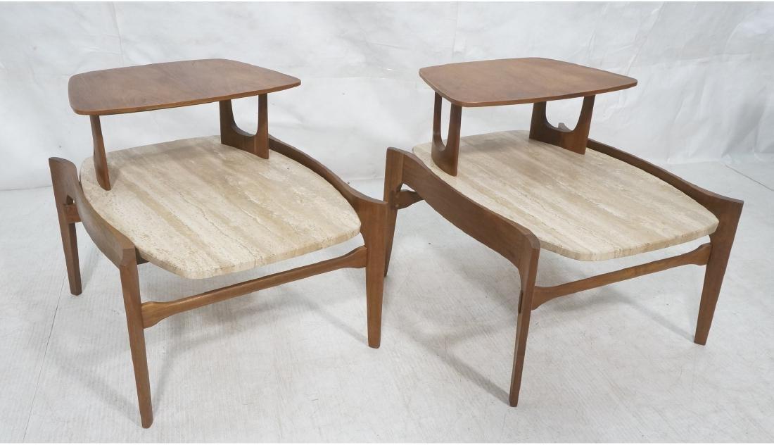 Pr Bertha Schaefer Step Tables.  American Modern