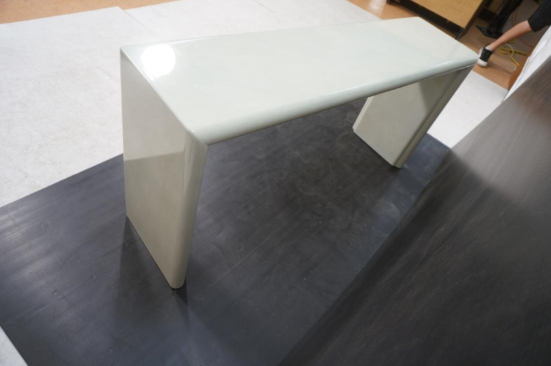 Modernist Lacquered Hall Console Table. Modeled p - 10