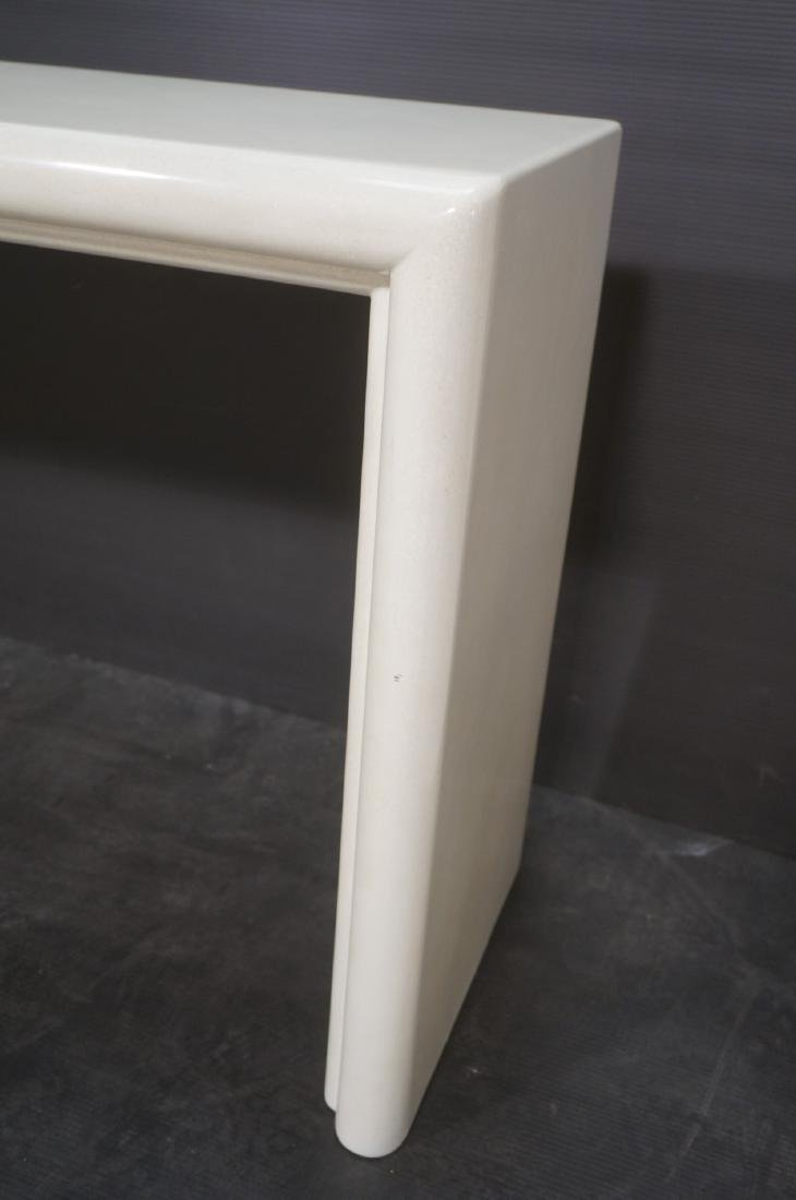 Modernist Lacquered Hall Console Table. Modeled p - 6