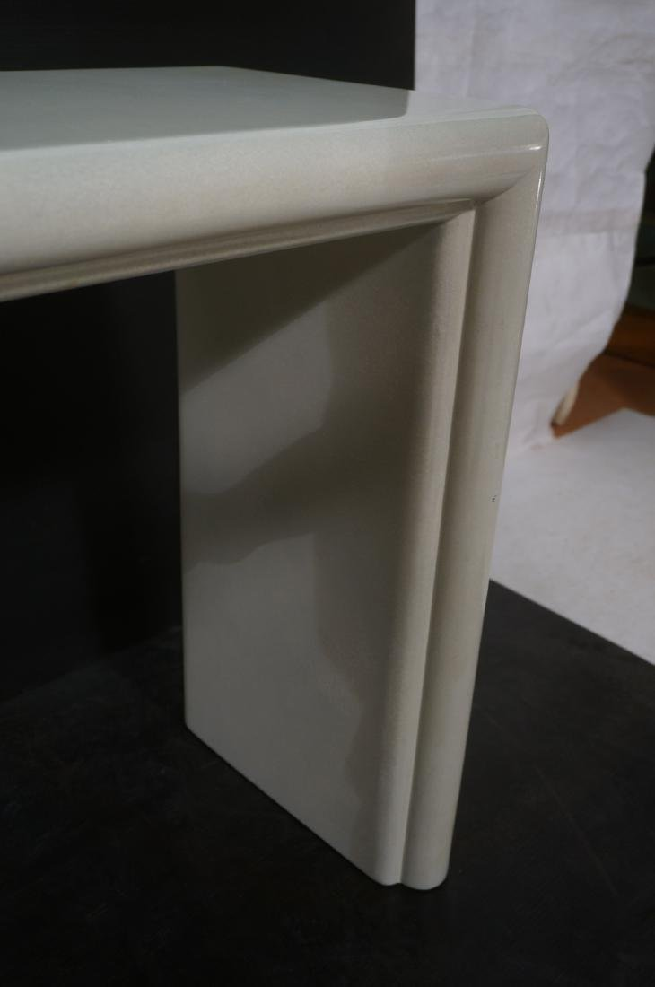 Modernist Lacquered Hall Console Table. Modeled p - 7