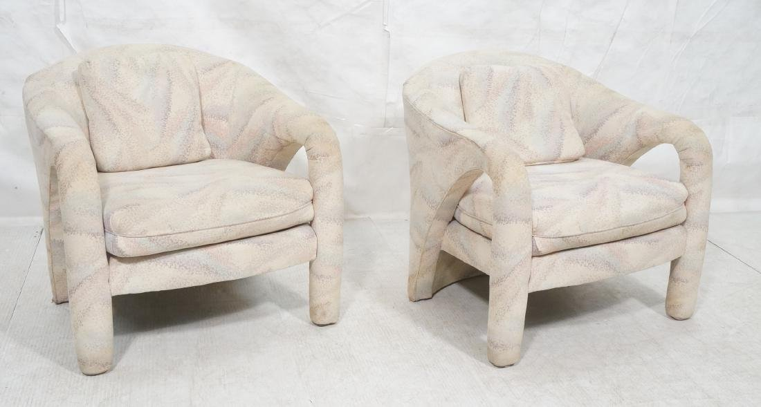 Pr VLADIMIR KAGAN for WEIMAN Lounge Chairs. Compl
