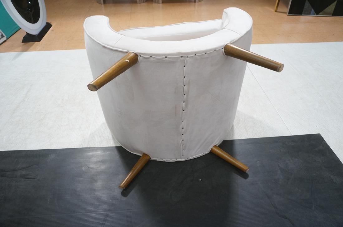 Pr Italian Style Modern Off White Velvet Lounge C - 13